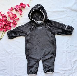 The North Face fleece baby bunting